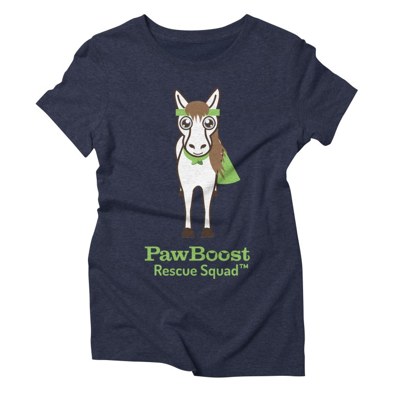 Harry (horse) Women's Triblend T-Shirt by PawBoost's Shop