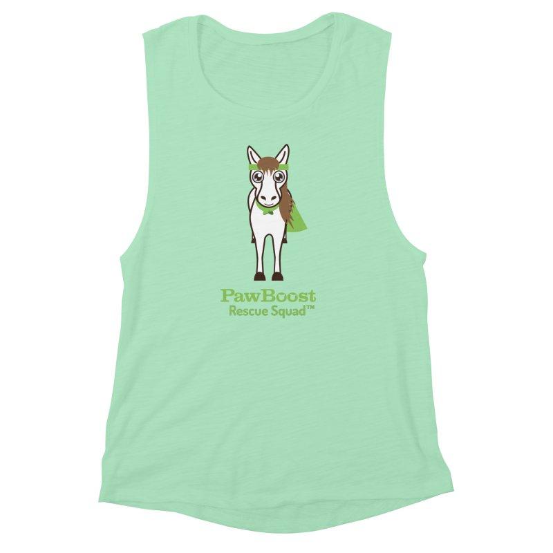 Harry (horse) Women's Muscle Tank by PawBoost's Shop