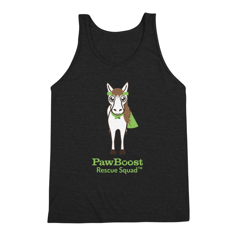 Harry (horse) Men's Triblend Tank by PawBoost's Shop