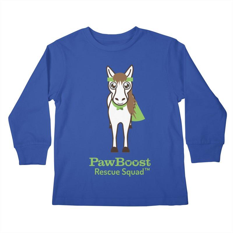Harry (horse) Kids Longsleeve T-Shirt by PawBoost's Shop
