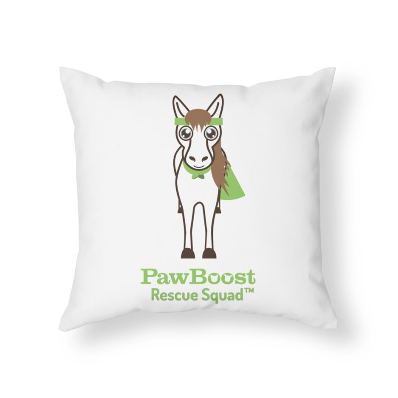 Harry (horse) Home Throw Pillow by PawBoost's Shop