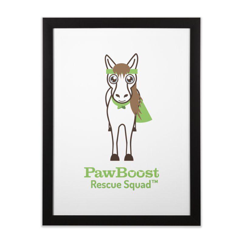 Harry (horse) Home Framed Fine Art Print by PawBoost's Shop
