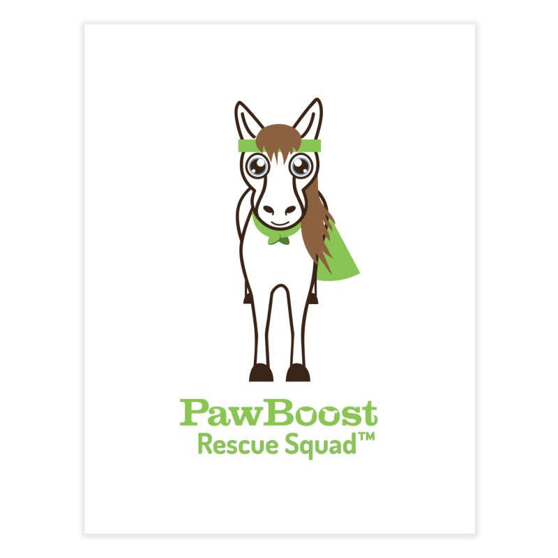 Harry (horse) Home Fine Art Print by PawBoost's Shop