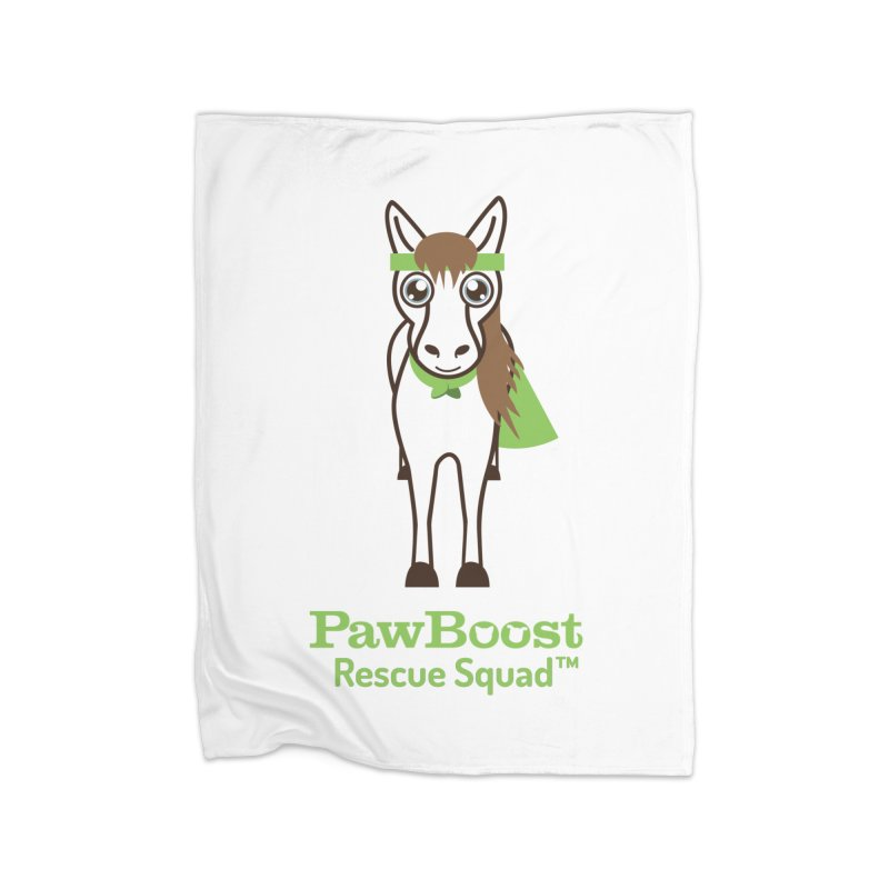 Harry (horse) Home Fleece Blanket Blanket by PawBoost's Shop