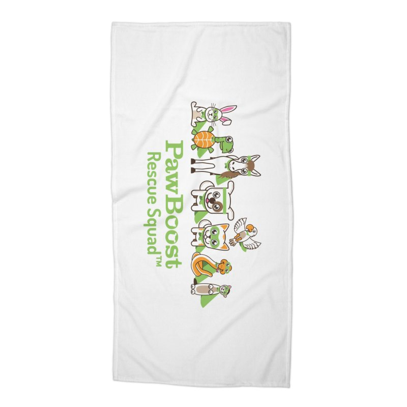 Rescue Squad (group) Accessories Beach Towel by PawBoost's Shop