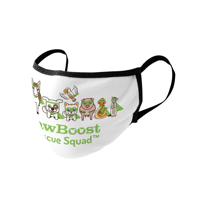 Rescue Squad (group) Accessories Face Mask by PawBoost's Shop