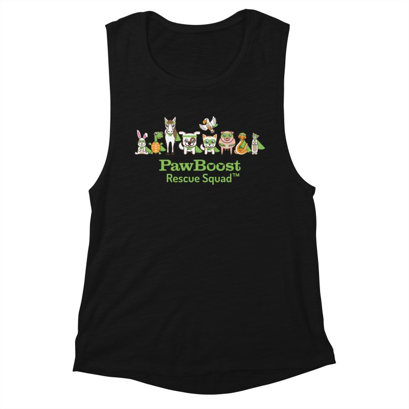 Rescue Squad (group) Women's Tank by PawBoost's Shop