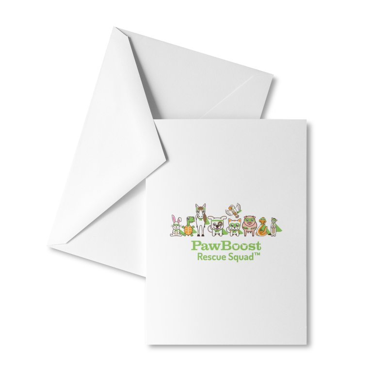 Rescue Squad (group) Accessories Greeting Card by PawBoost's Shop