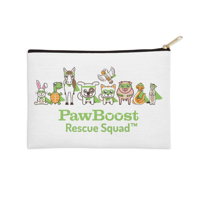 Rescue Squad (group) Accessories Zip Pouch by PawBoost's Shop