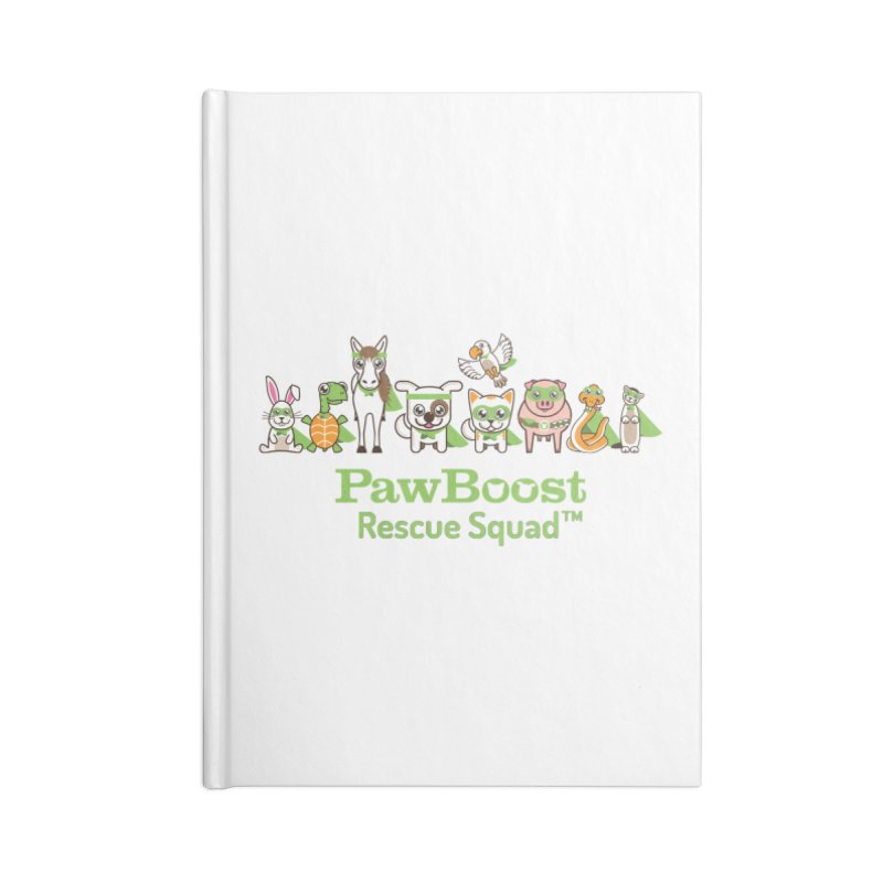 Rescue Squad (group) Accessories Notebook by PawBoost's Shop