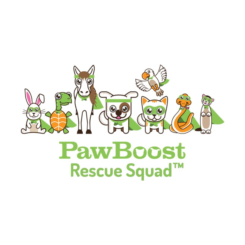 Rescue Squad (group) Home Fine Art Print by PawBoost's Shop