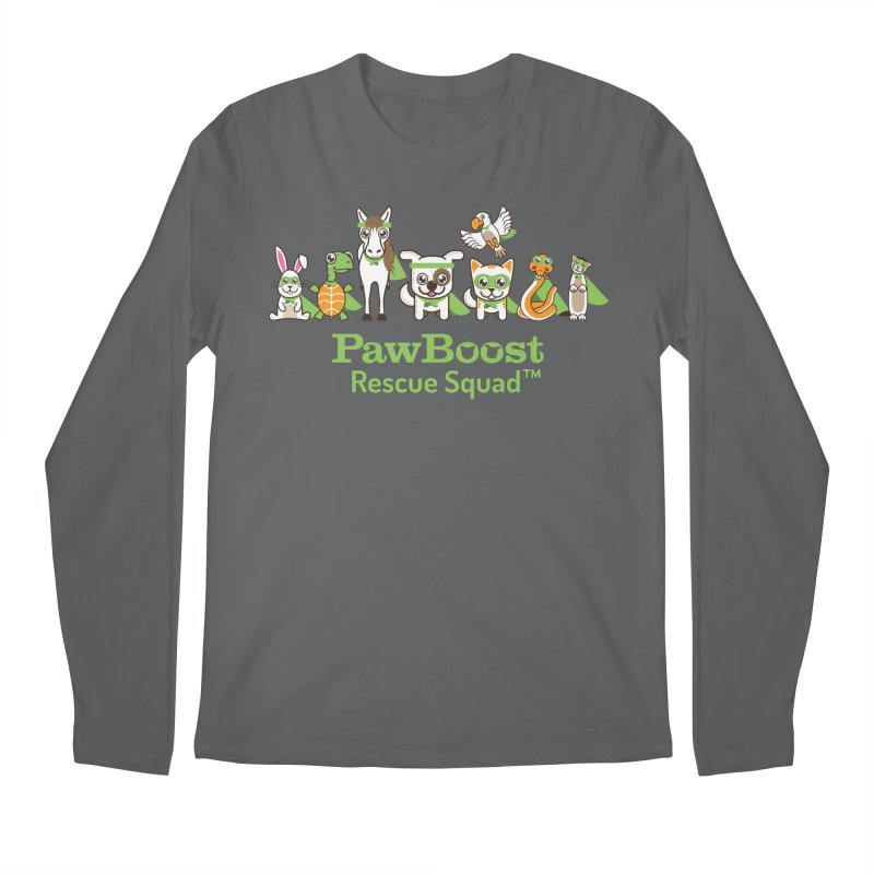 Rescue Squad (group) Men's Longsleeve T-Shirt by PawBoost's Shop
