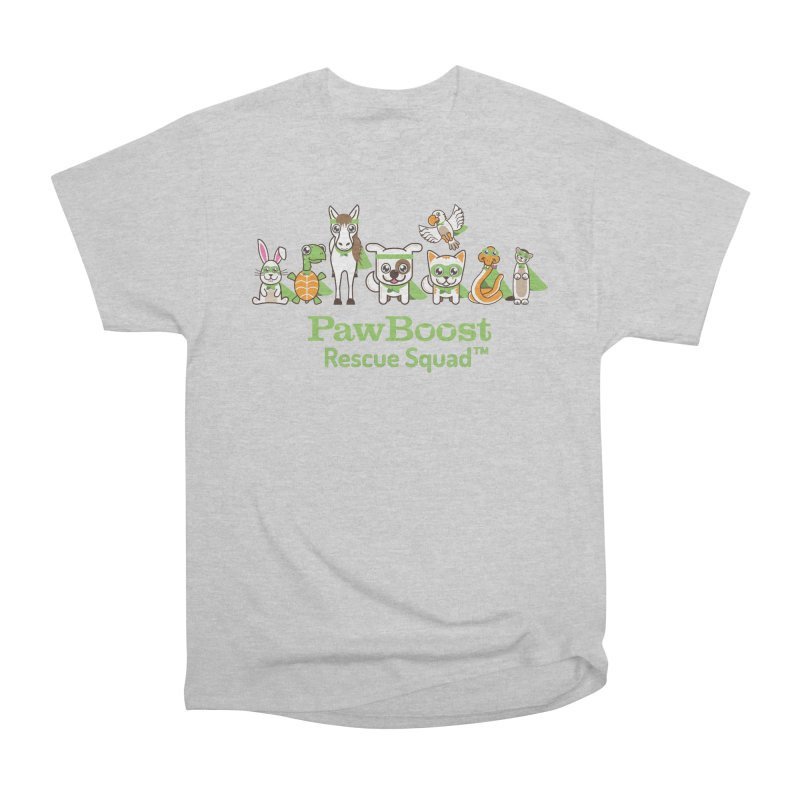 Rescue Squad (group) in Men's Heavyweight T-Shirt Heather Grey by PawBoost's Shop