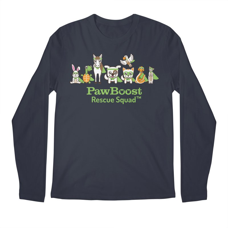 Rescue Squad (group) Men's Regular Longsleeve T-Shirt by PawBoost's Shop