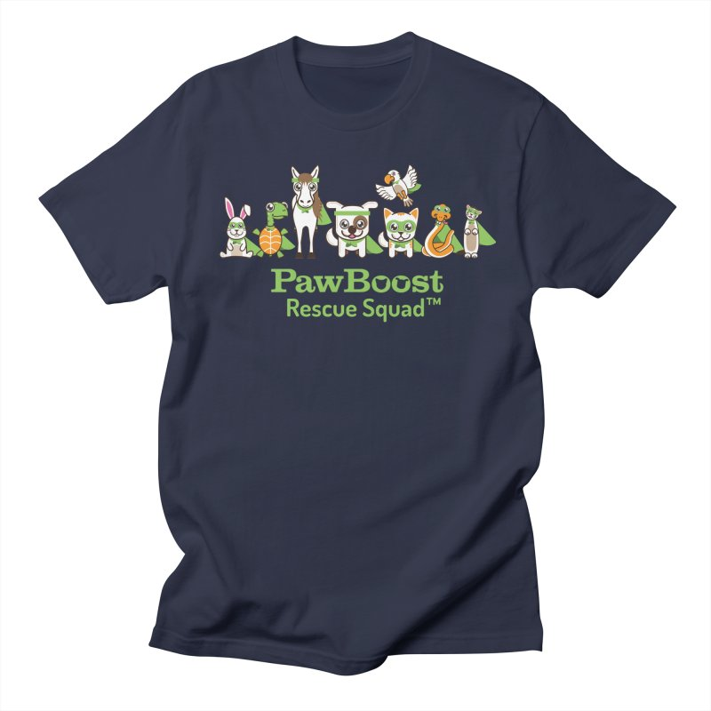 Rescue Squad (group) Women's Regular Unisex T-Shirt by PawBoost's Shop