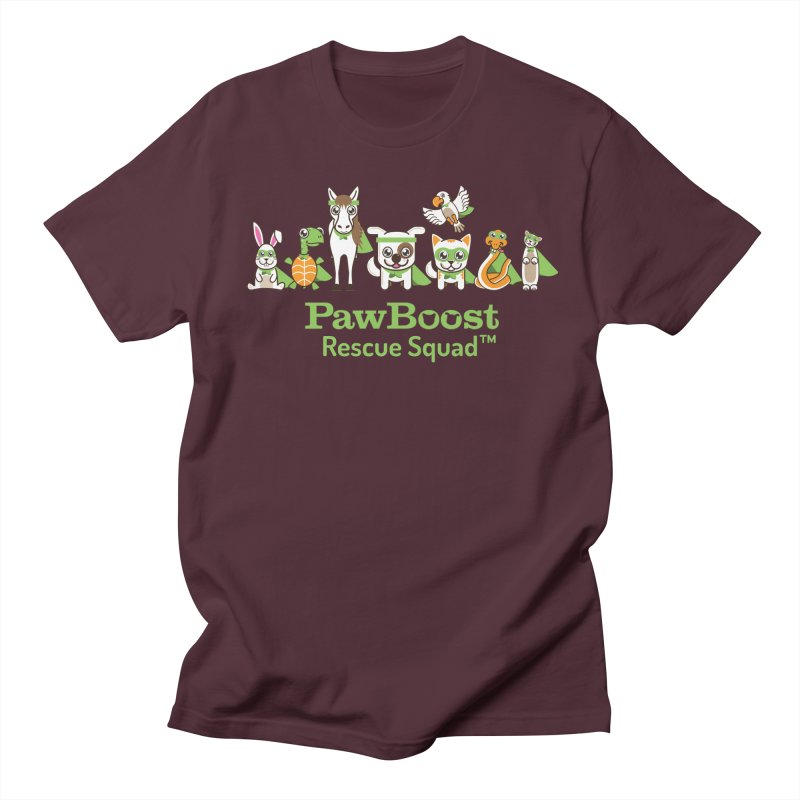 Rescue Squad (group) Men's Regular T-Shirt by PawBoost's Shop