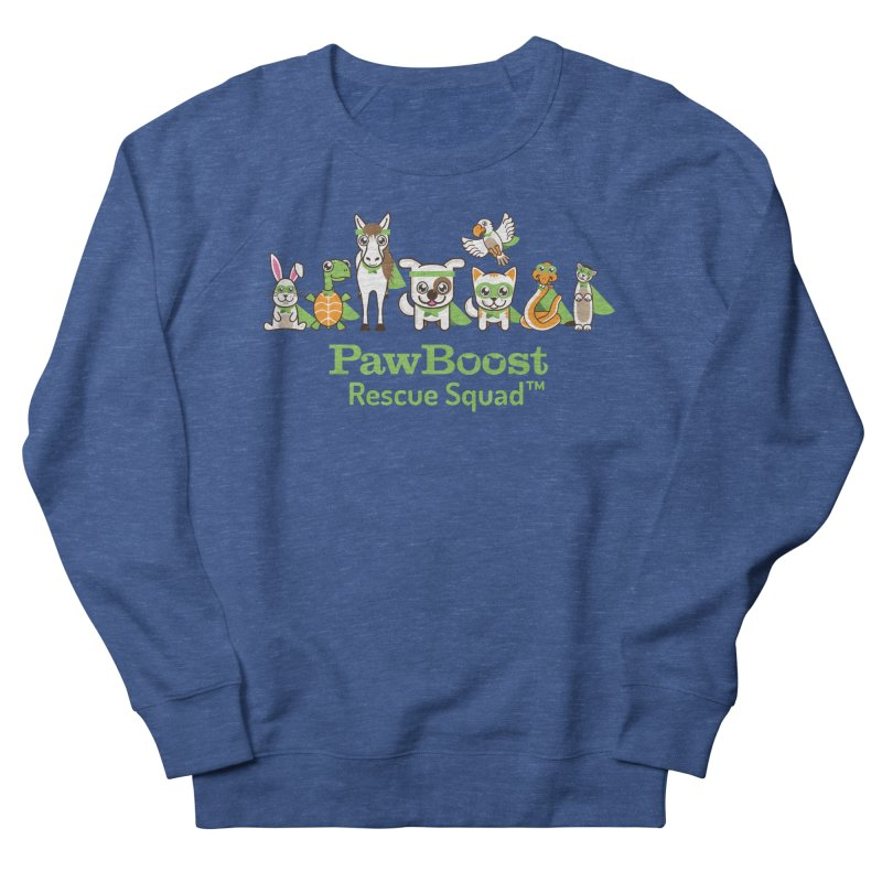 Rescue Squad (group) Women's French Terry Sweatshirt by PawBoost's Shop