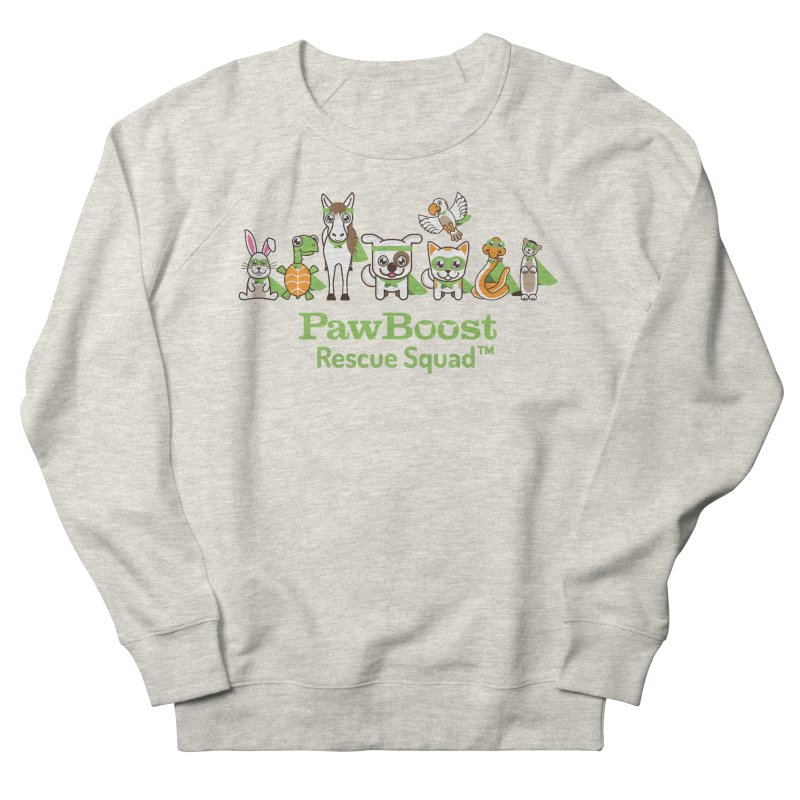 Rescue Squad (group) Men's French Terry Sweatshirt by PawBoost's Shop