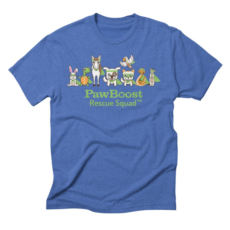 Rescue Squad (group) Men's Triblend T-Shirt by PawBoost's Shop