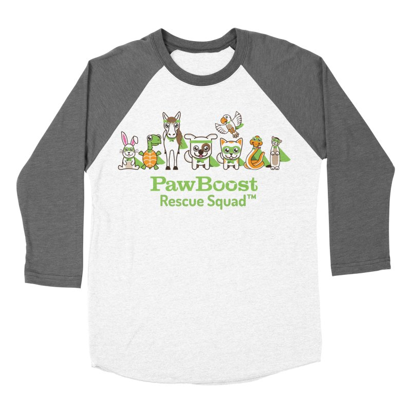 Rescue Squad (group) Women's Baseball Triblend Longsleeve T-Shirt by PawBoost's Shop