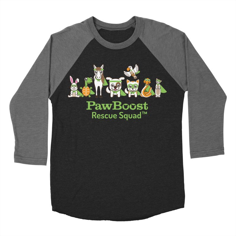 Rescue Squad (group) Men's Baseball Triblend T-Shirt by PawBoost's Shop