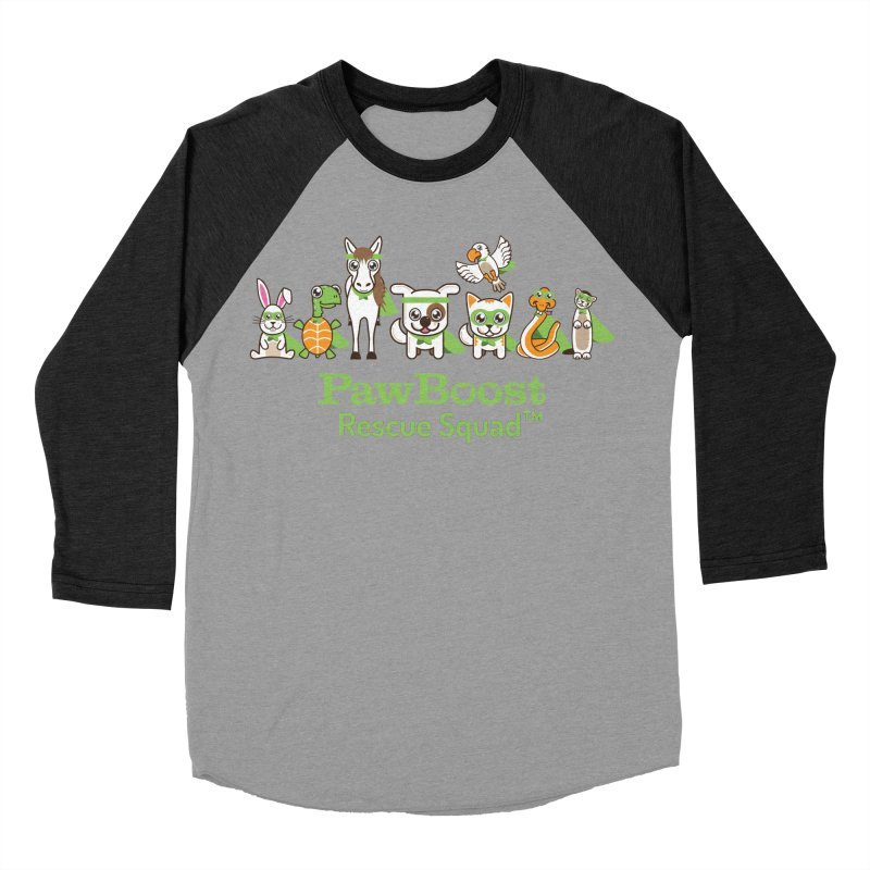 Rescue Squad (group) Men's Baseball Triblend Longsleeve T-Shirt by PawBoost's Shop