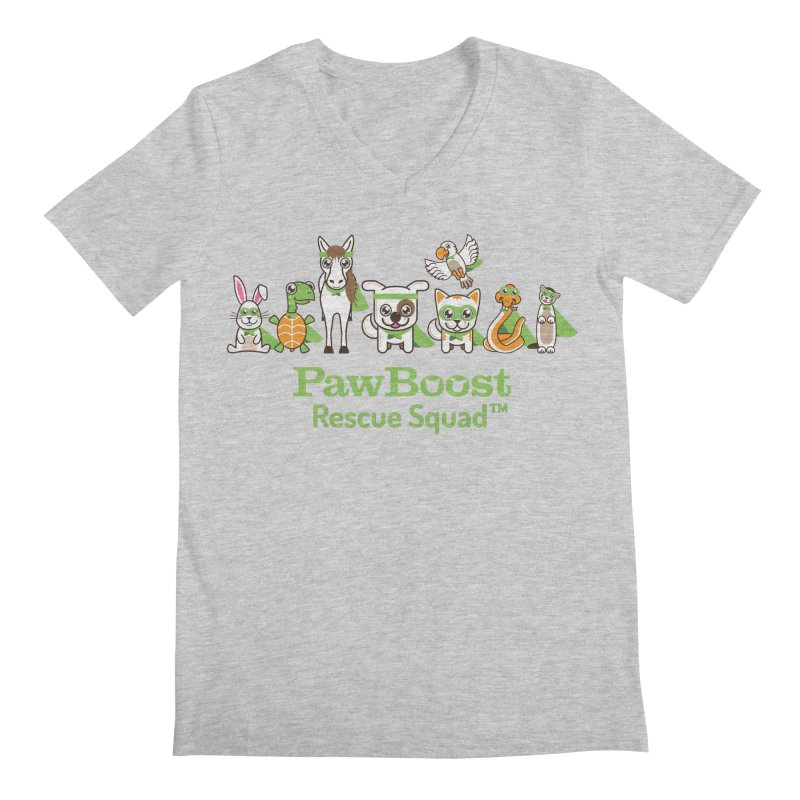 Rescue Squad (group) Men's V-Neck by PawBoost's Shop