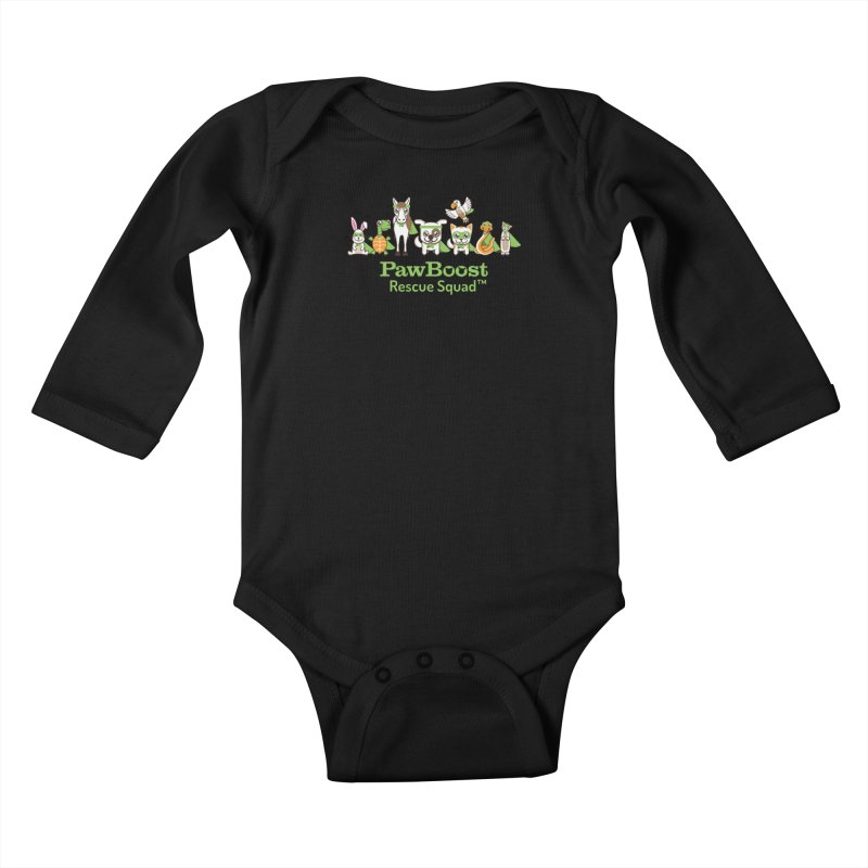 Rescue Squad (group) Kids Baby Longsleeve Bodysuit by PawBoost's Shop
