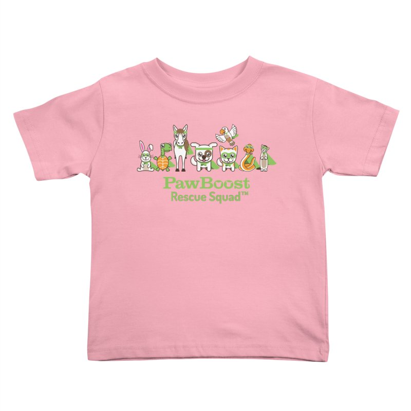 Rescue Squad (group) Kids Toddler T-Shirt by PawBoost's Shop