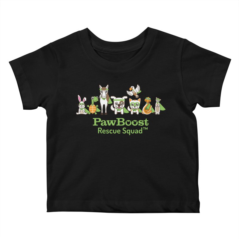 Rescue Squad (group) Kids Baby T-Shirt by PawBoost's Shop