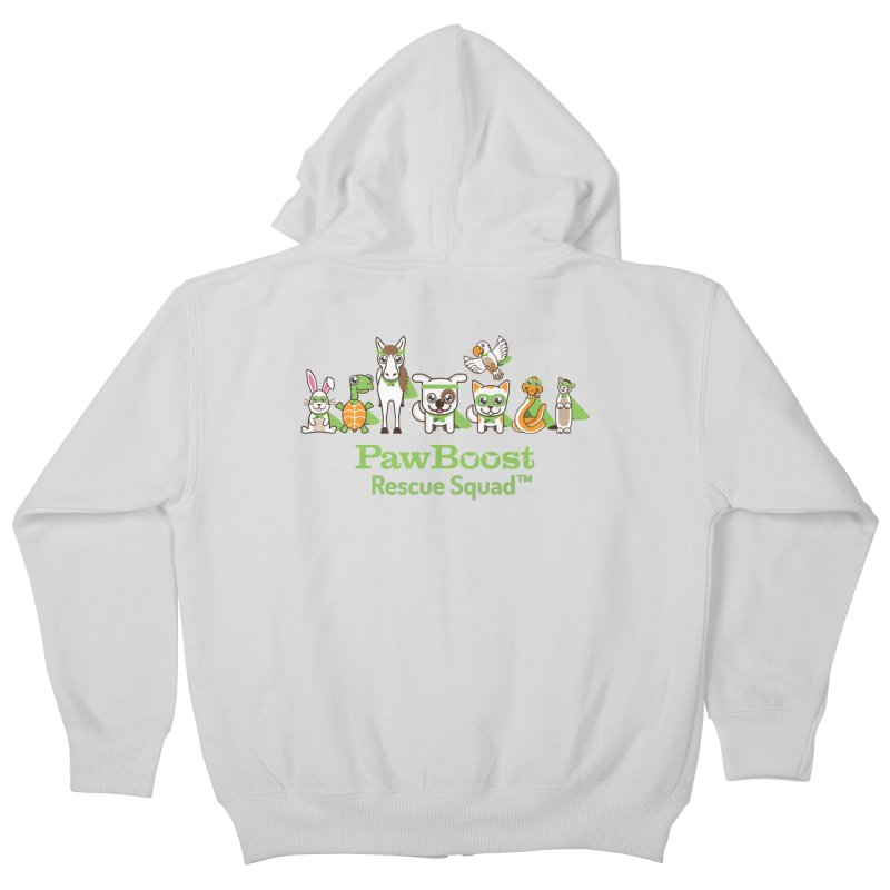 Rescue Squad (group) Kids Zip-Up Hoody by PawBoost's Shop