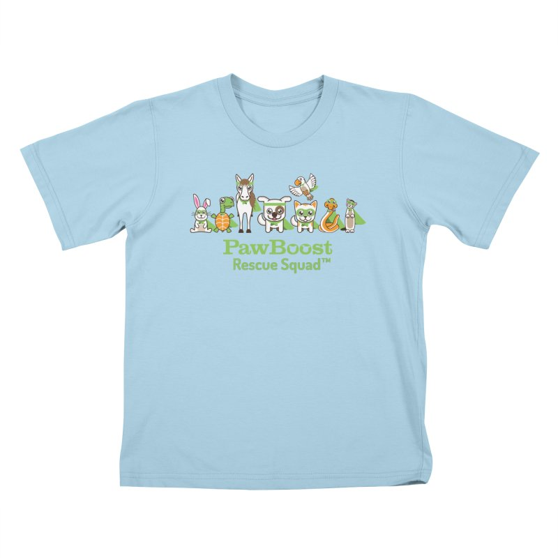 Rescue Squad (group) Kids T-Shirt by PawBoost's Shop