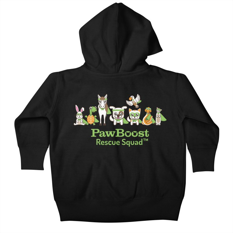 Rescue Squad (group) Kids Baby Zip-Up Hoody by PawBoost's Shop