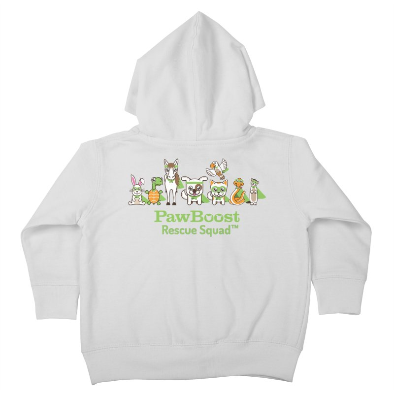 Rescue Squad (group) Kids Toddler Zip-Up Hoody by PawBoost's Shop