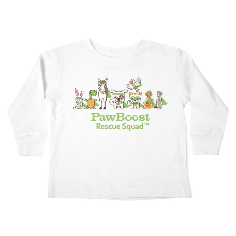 Rescue Squad (group) Kids Toddler Longsleeve T-Shirt by PawBoost's Shop