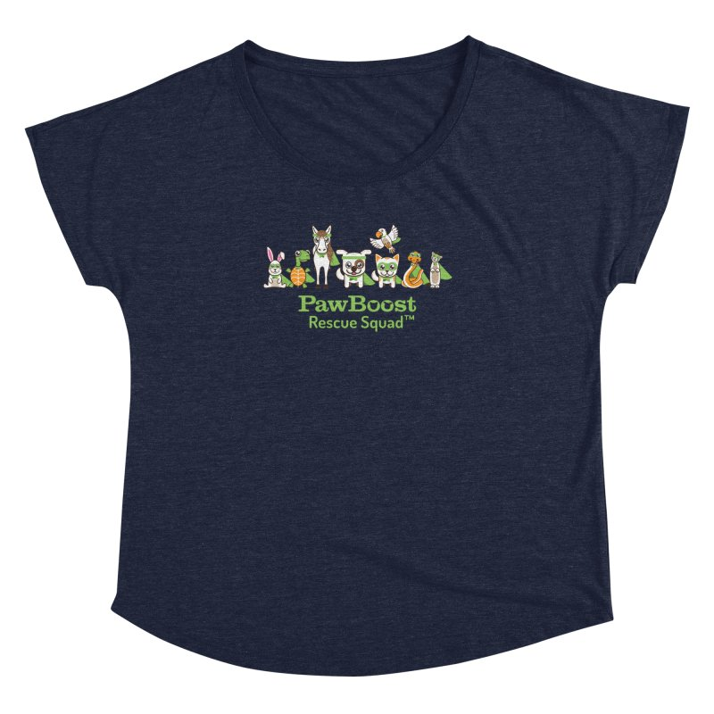 Rescue Squad (group) Women's Dolman Scoop Neck by PawBoost's Shop