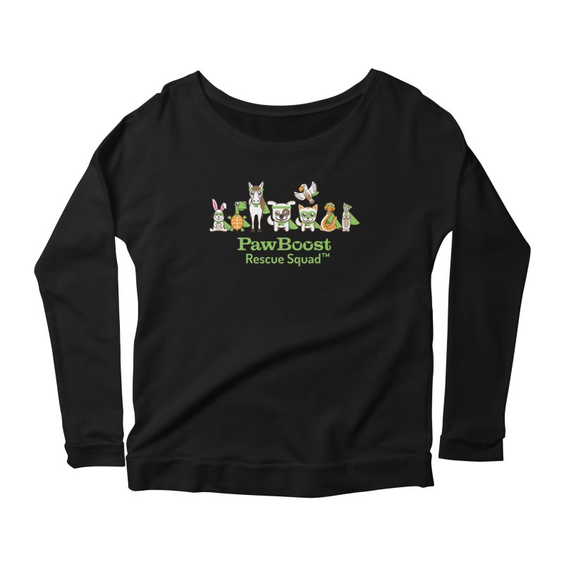 Rescue Squad (group) Women's Longsleeve Scoopneck  by PawBoost's Shop