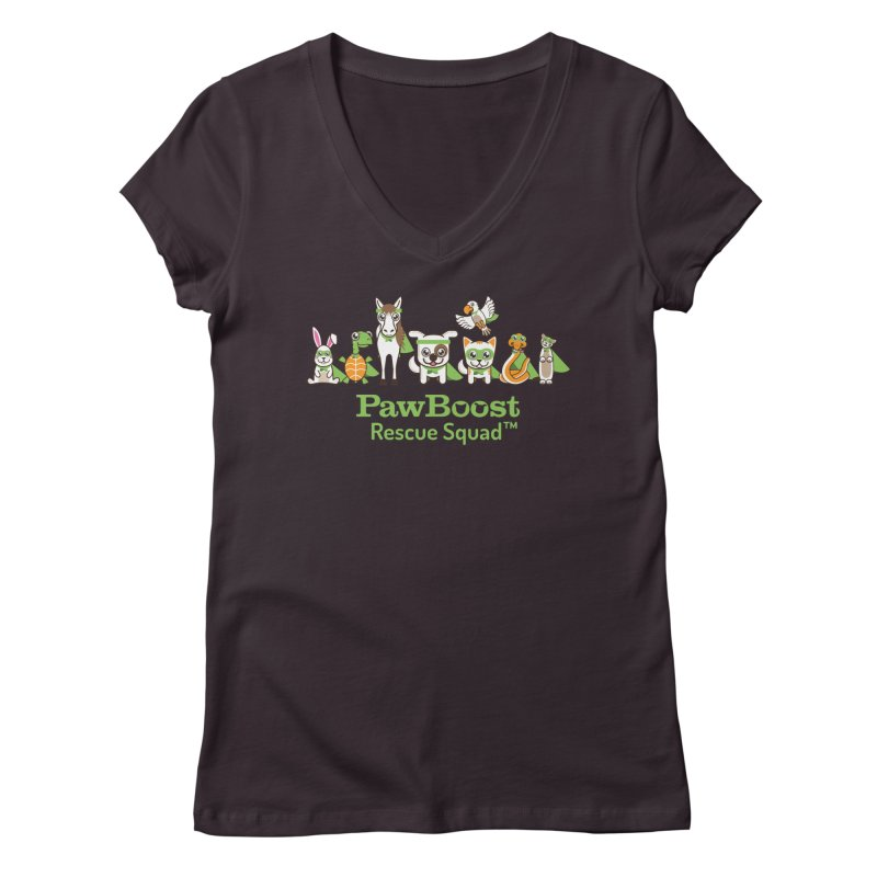 Rescue Squad (group) Women's Regular V-Neck by PawBoost's Shop