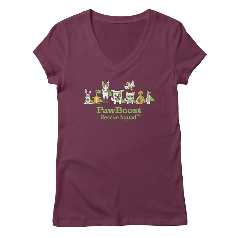 Rescue Squad (group) Women's V-Neck by PawBoost's Shop