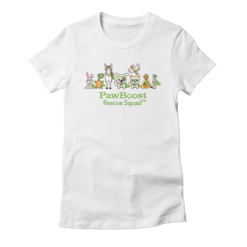 Rescue Squad (group) Women's Fitted T-Shirt by PawBoost's Shop