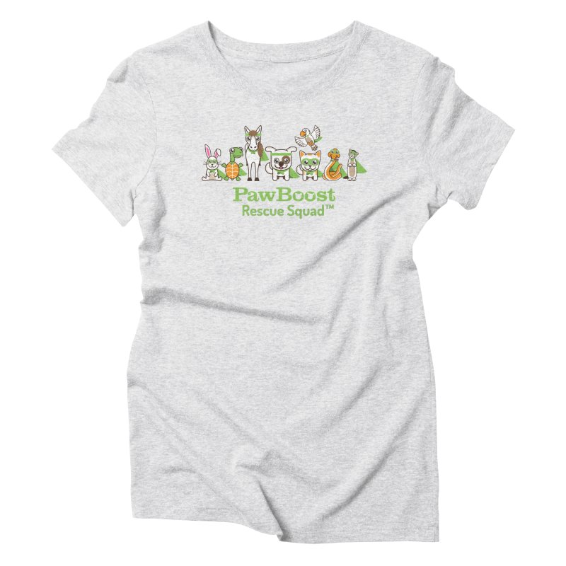 Rescue Squad (group) Women's Triblend T-Shirt by PawBoost's Shop