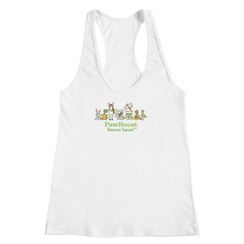 Rescue Squad (group) Women's Racerback Tank by PawBoost's Shop