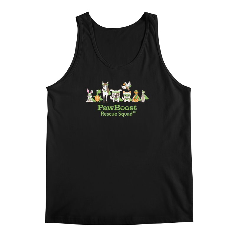 Rescue Squad (group) Men's Regular Tank by PawBoost's Shop