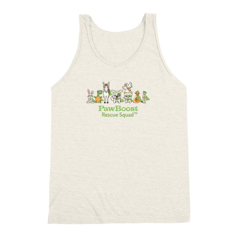 Rescue Squad (group) Men's Triblend Tank by PawBoost's Shop