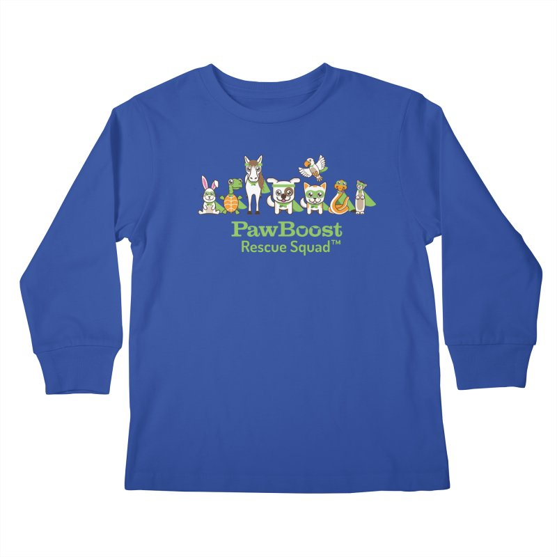 Rescue Squad (group) Kids Longsleeve T-Shirt by PawBoost's Shop