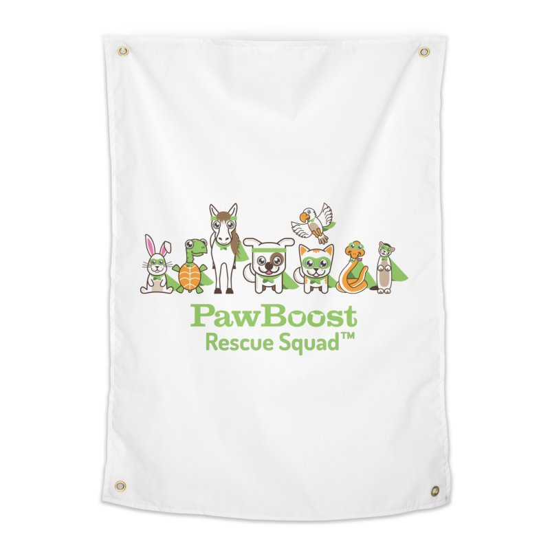 Rescue Squad (group) Home Tapestry by PawBoost's Shop