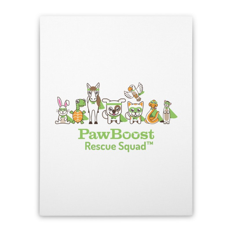Rescue Squad (group) Home Stretched Canvas by PawBoost's Shop
