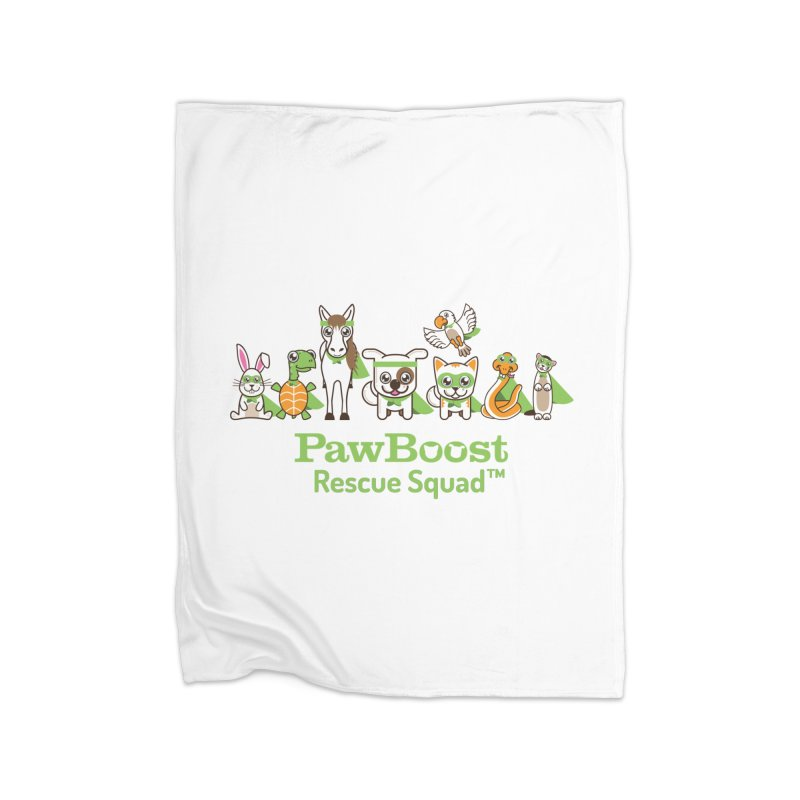 Rescue Squad (group) Home Fleece Blanket Blanket by PawBoost's Shop