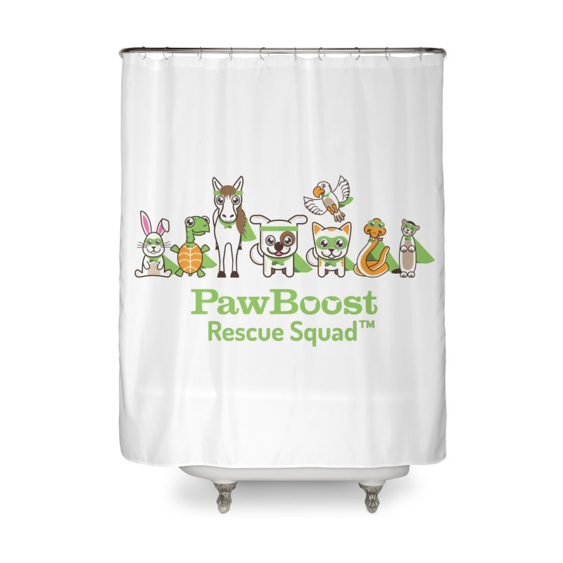 Rescue Squad (group) Home Shower Curtain by PawBoost's Shop