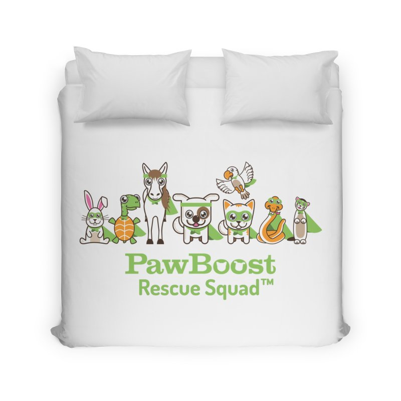 Rescue Squad (group) Home Duvet by PawBoost's Shop